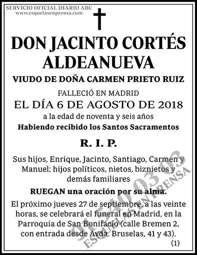 Jacinto Cortés Aldeanueva